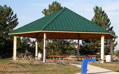 Sterling Park Eq Park Shelters | Sterling West