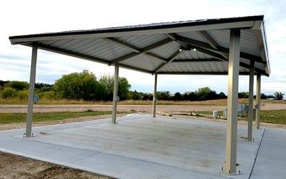Sterling Park Eq Steel Frame Park Shelters   Sterling West