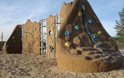Sterling Playground Climbing Walls | Sterling West