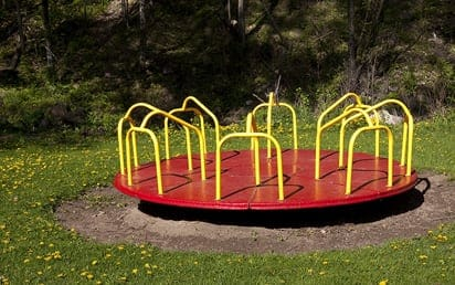 Sterling Playground Merry Go Round | Sterling West