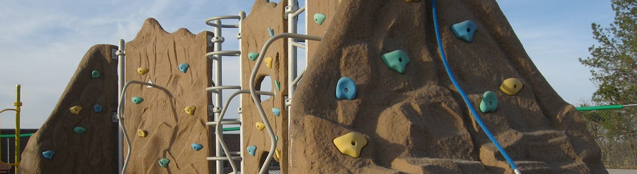 Sterling West Unique Interior Playground Climbing Walls | Sterling West