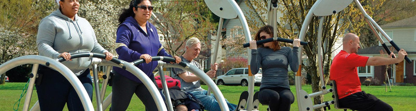 Norwell People Using Exercise Equipment | Sterling West