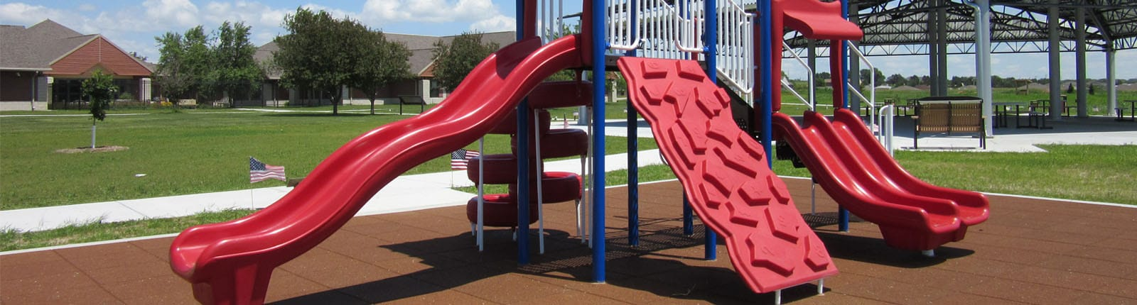 Surfacing Playground Equipment | Sterling West